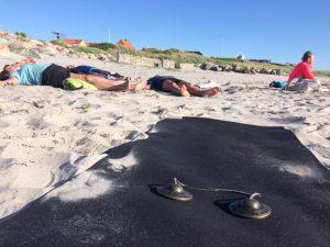 yoga-afspænding på læsø